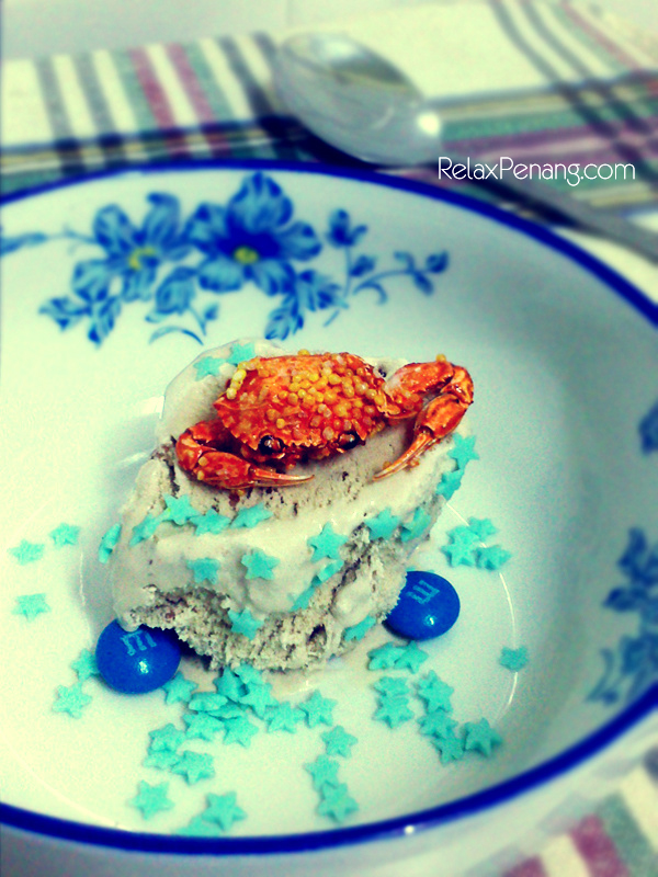 Seafood Crab Ice Cream - RelaxPenang