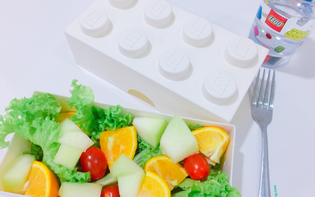 Tastier & Healthier with Lego Lunch Box
