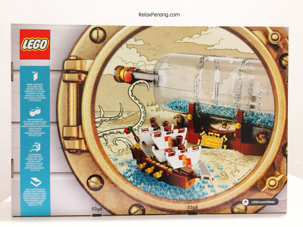 Lego Ship In A Bottle Malaysia 2