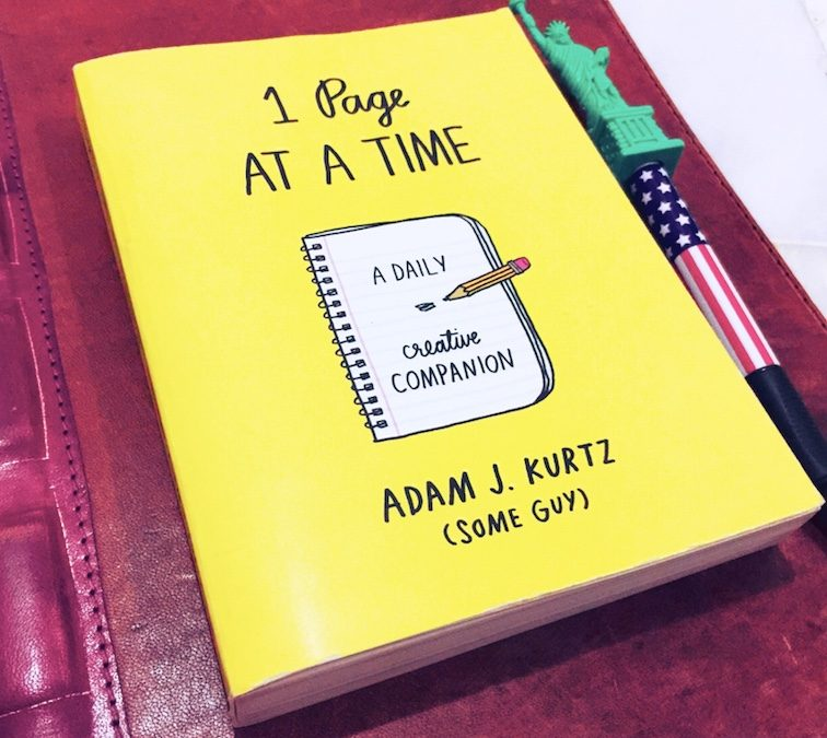 1 Page At A Time: A Fun Book To Explore The Inner You