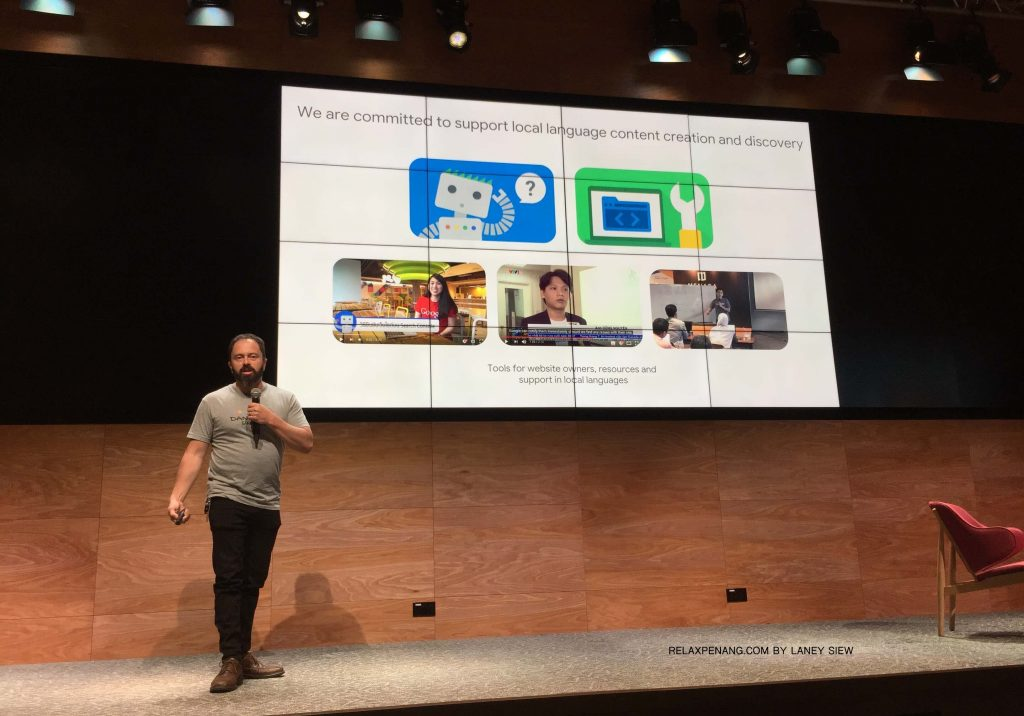 4 Google is Committed to Support Local Language Content Creation and Discovery Google Dance 2018 Juan Felipe Rincon