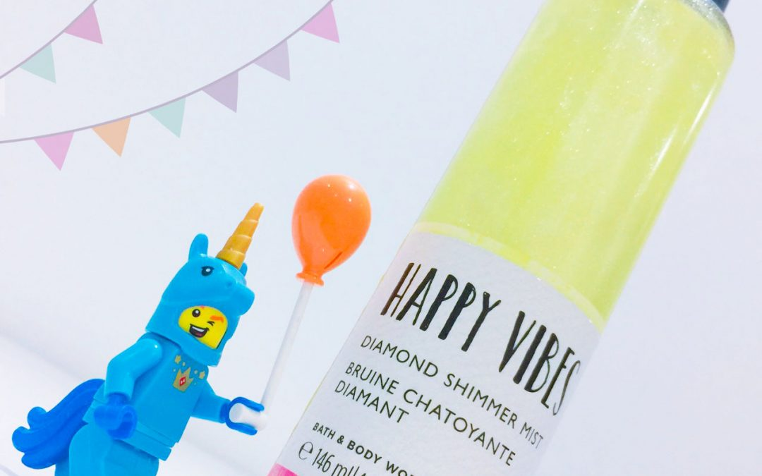 Happy Vibes: Dimond Shimmer Mist Review