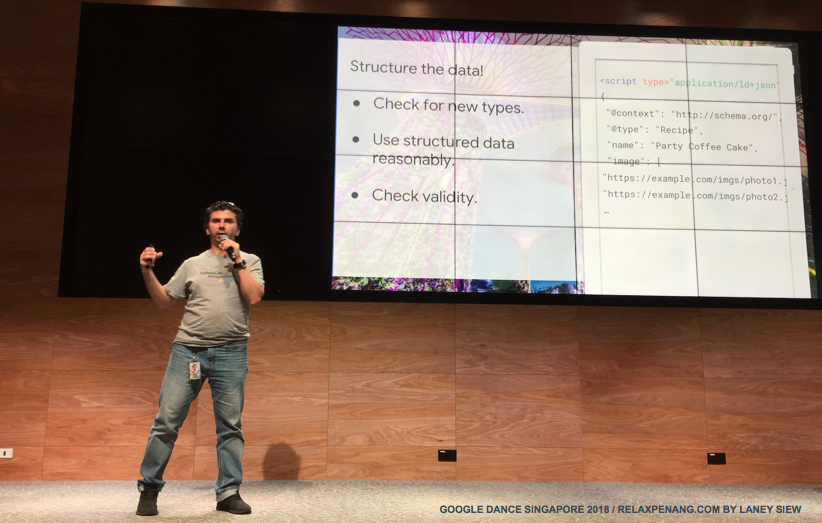 Structured The Data Google Dance Singapore 2018 Gary Illyes