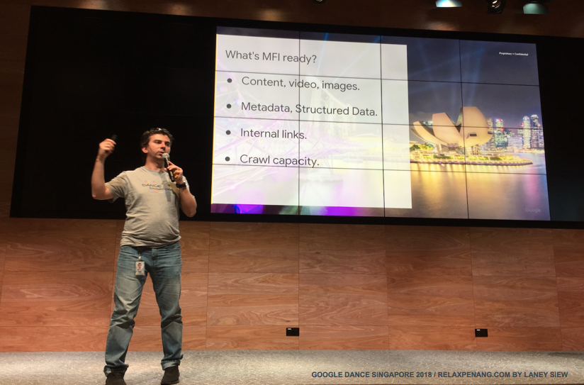 What is Mobile First Indexing Google Dance Singapore 2018 Gary Illyes