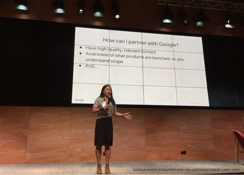 How Can I Partner with Google Google Dance Singapore 2018 Stacie Chan