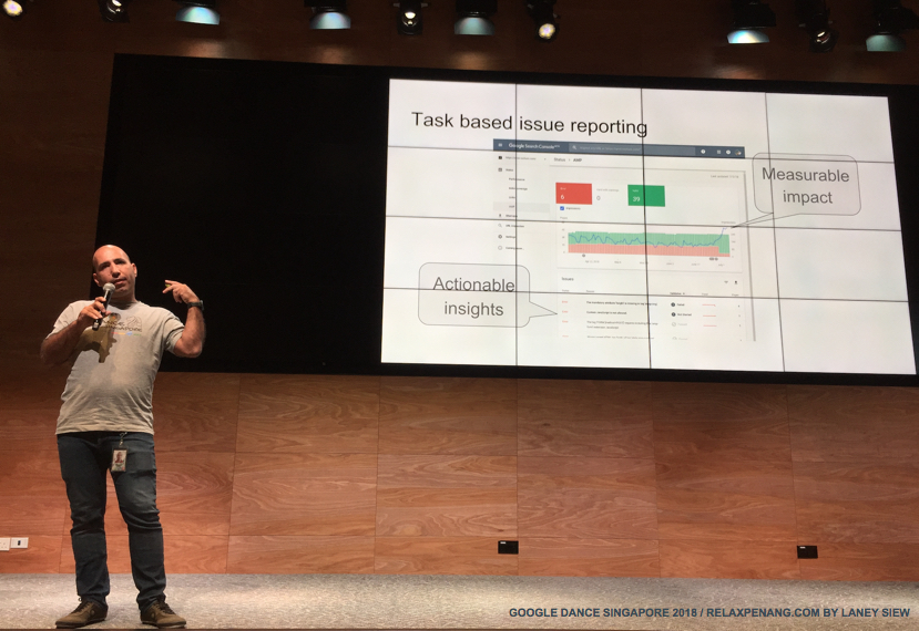 The New Search Console Task Based Issue Reporting Google Dance 2018 Yinnon Haviv