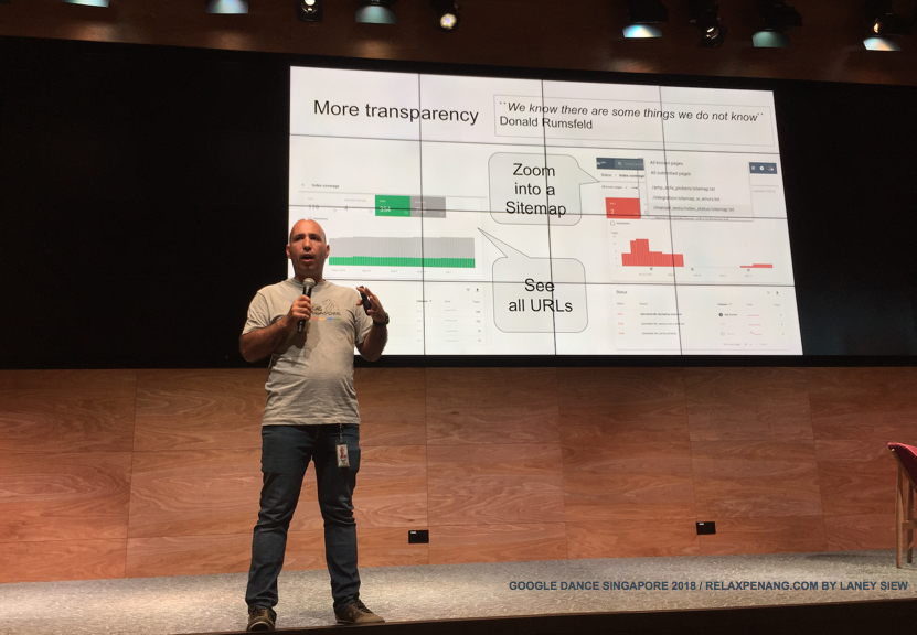 The New Search Console More Transparency Google Dance Singapore 2018 Yinnon Haviv