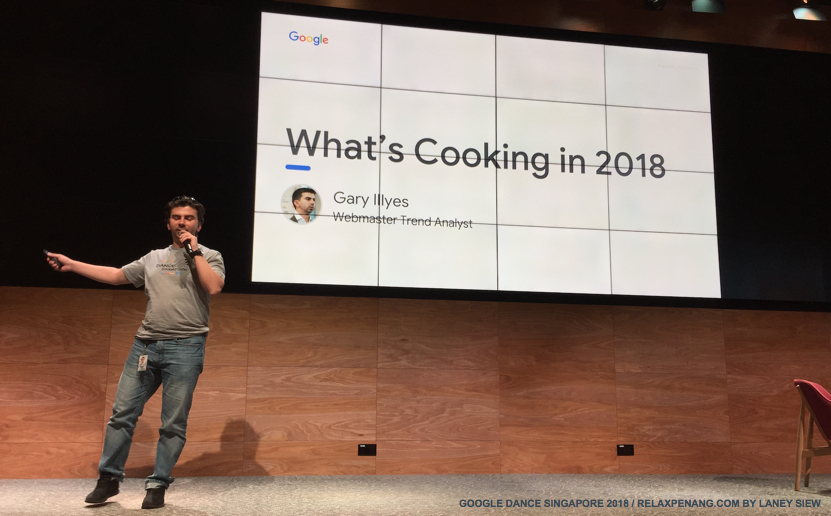 5 Google What is Important in 2018 Google Dance Singapore Gary Illyes
