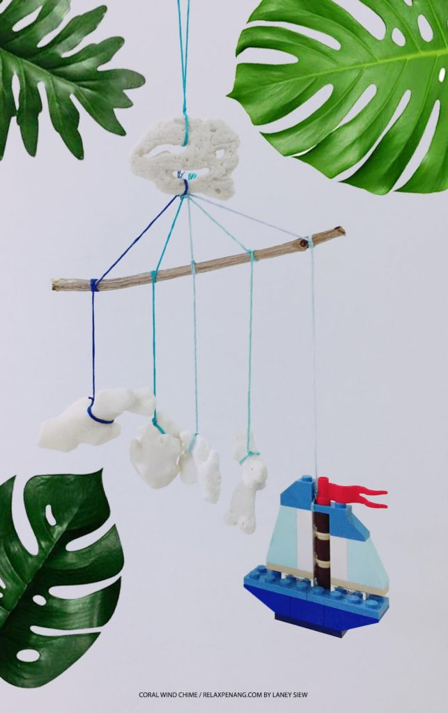 Corals Wind Chime DIY