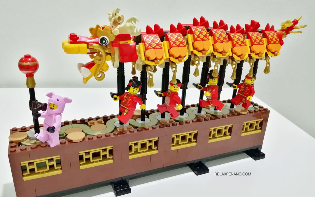 LEGO Dragon Dance [80102] Asia-Only Chinese CNY Festival Special Edition is Fantastic!