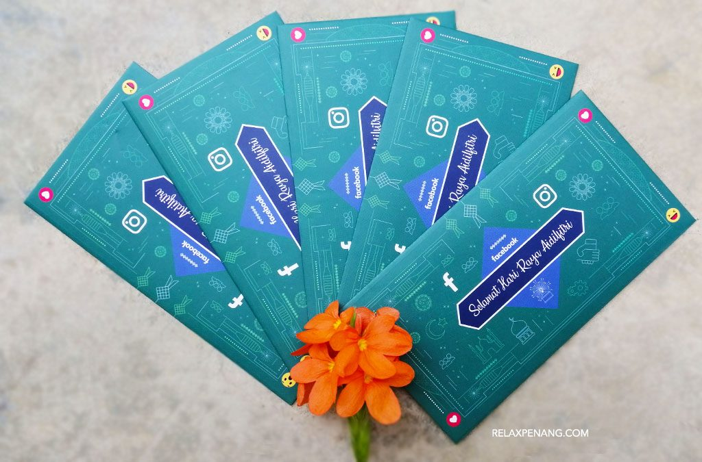 Facebook Green Packet Sampul Duit Raya