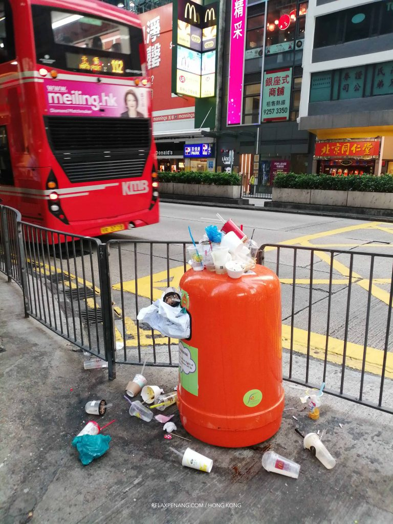 Plastic pollution in Hong Kong