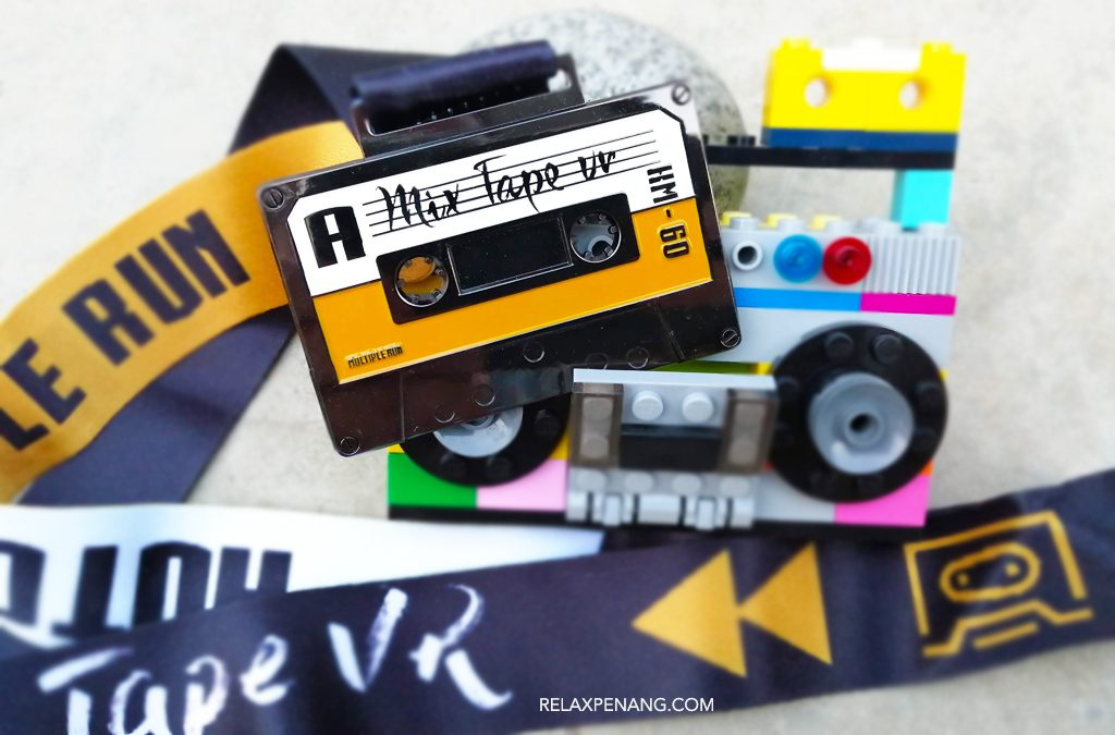 Mixtape Virtual Run: 60KM Run for a Cassette Tape Design Medal!