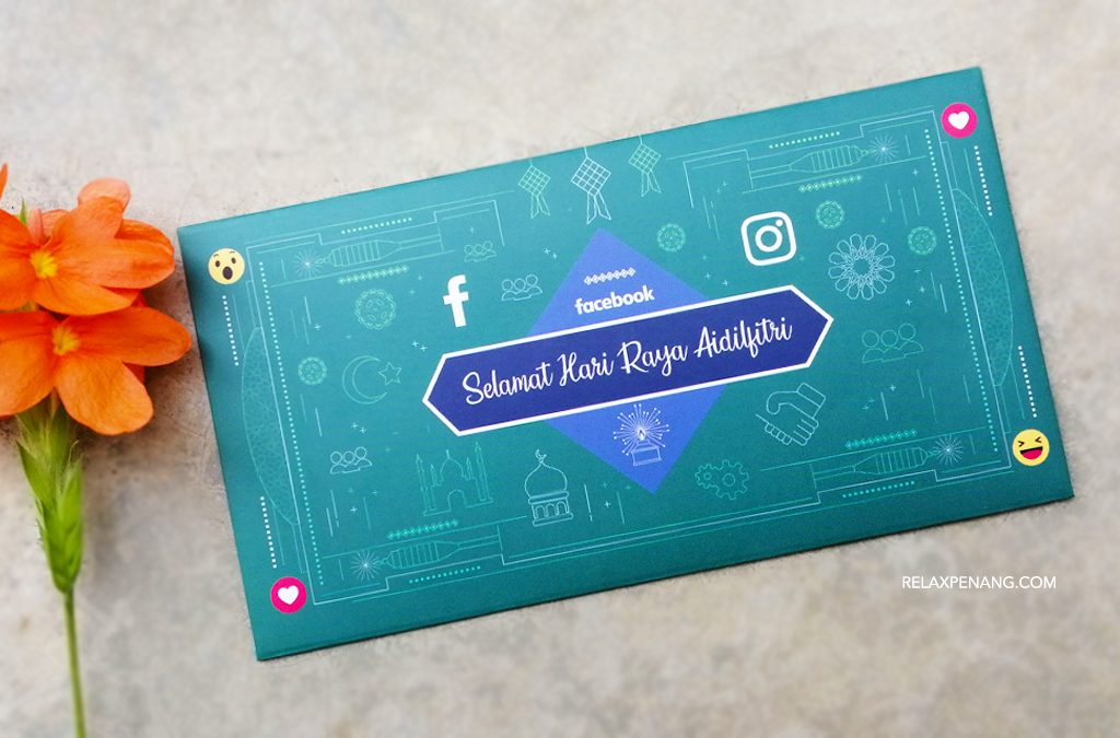 Sampul Duit Raya Facebook (Green Packet)! Limited Edition 2019