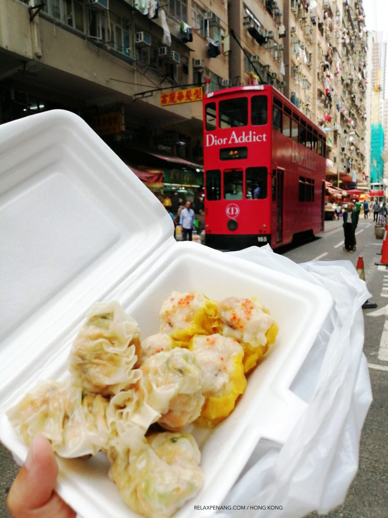 Styrofoam is widely used in Hong Kong
