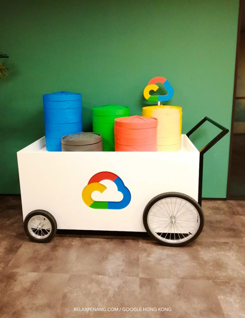 Google Cloud Hong Kong Dim Sum Trolley