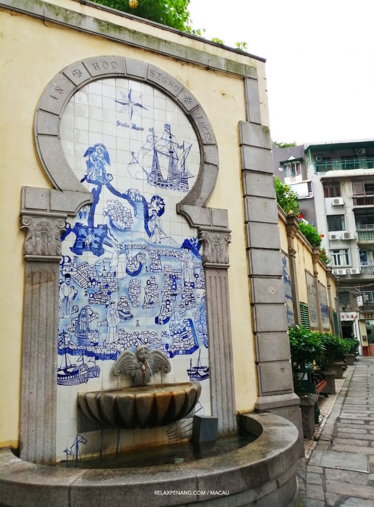 Macau Portugese Art In Hoc Signo Vinces