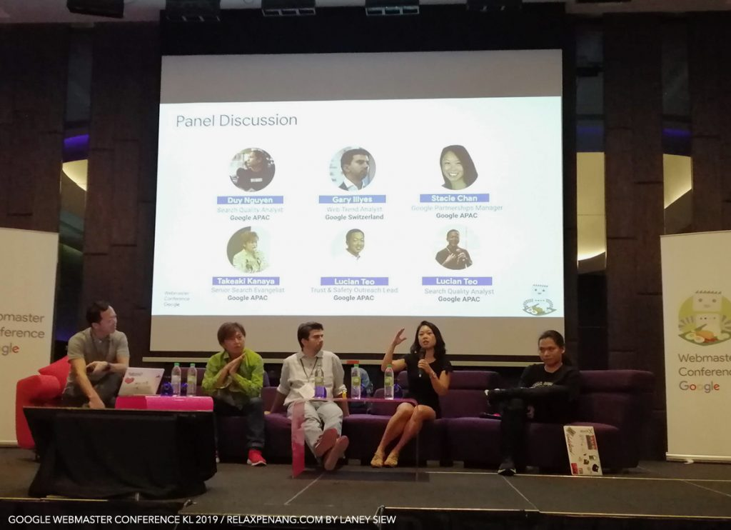 Google Webmaster Conference KL Malaysia Aug 2019 Google Search Team Panel Discussion