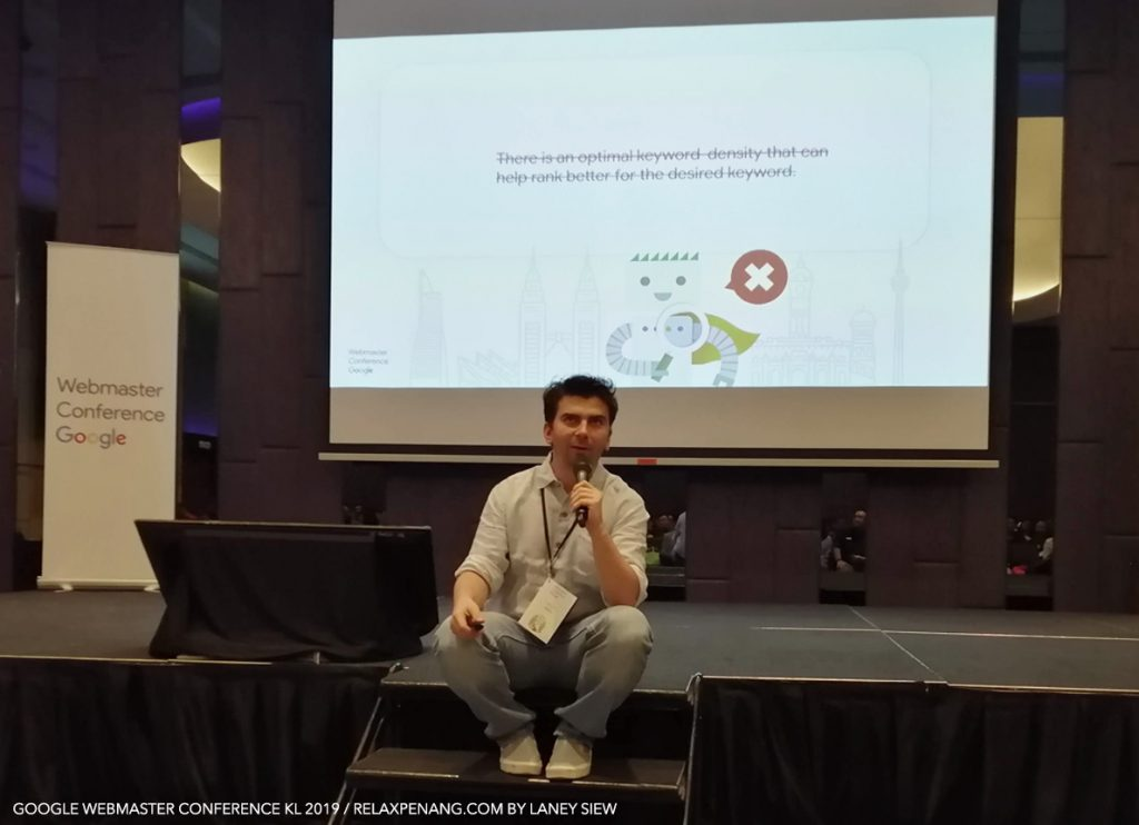 SEO Mythbusting by Gary Illyes Google Webmaster Conference KL Malaysia Aug 2019