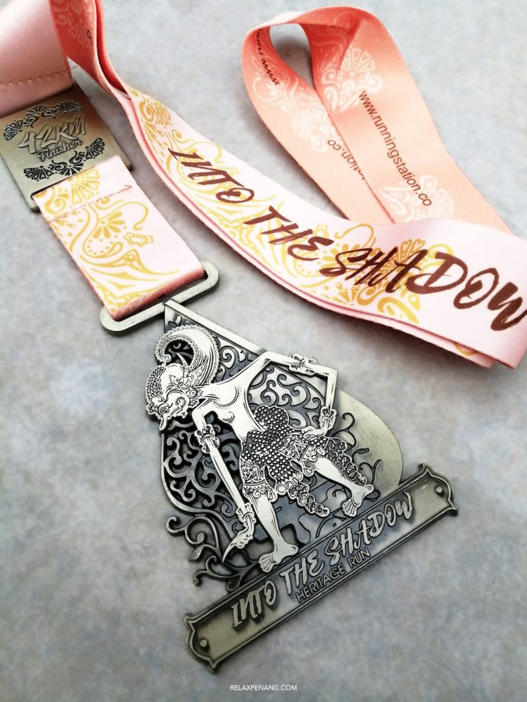 Wayang Kulit Medal Into The Shadow Heritage Virtual Run Malaysia