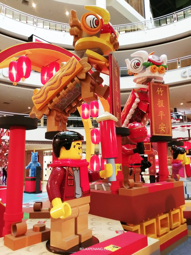 LEGO Chinese New Year Lion Dance Decoration