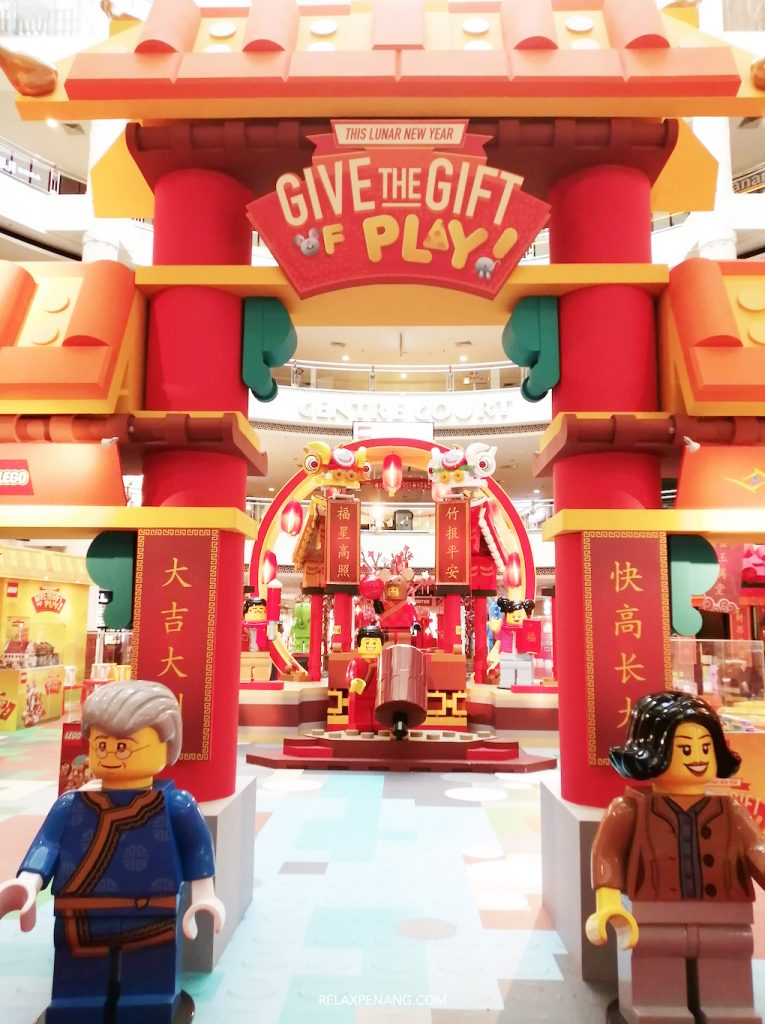 LEGO Chinese New Year Lion Dance Decoration Life Size Minifigure Ambient Advertsing