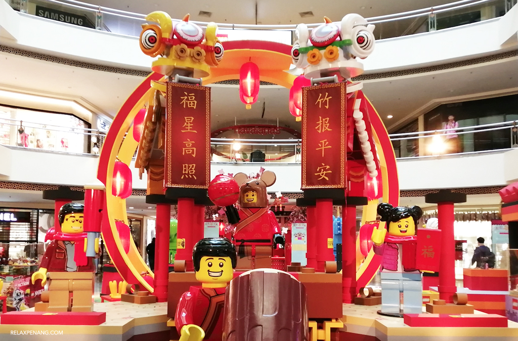 LEGO and Its Powerful Ambient Advertising for Chinese New Year Lion Dance Play Sets