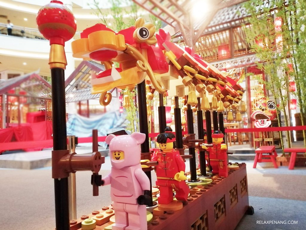 LEGO Dragon Dance Chinese New Year Decoration Advertising