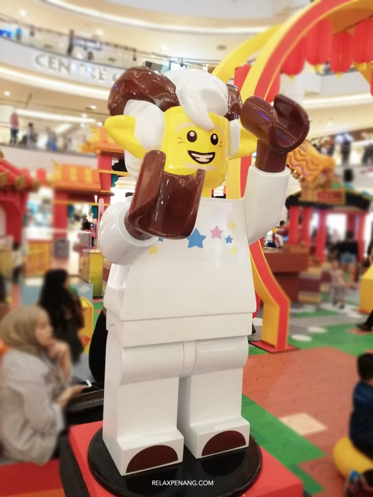 LEGO Lion Dance Goat Life Size Minifigure Chinese New Year Ambient Advertising Decoration